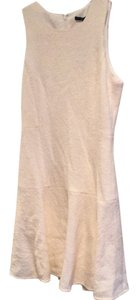 Tibi short dress Cream on Tradesy