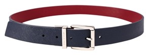 Michael Kors * Michael Kors Blue to Red Reversible Belt