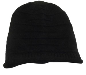 Other Lovely and Warm Chic Chunky BigBLACK Beanie Winter Cap Hat