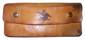 Other Vintage Anheuser Busch emblem leather wallet