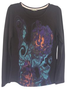 Dolcezza Light Abstract Print Sweater