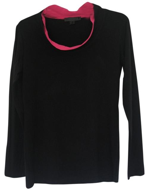 Preload https://item1.tradesy.com/images/black-casual-with-fuchsia-trim-collar-sweaterpullover-size-6-s-1210330-0-0.jpg?width=400&height=650