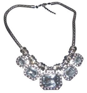 Other Big and Bold Statement Crystal Necklace