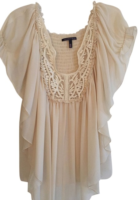 Item - Cream Vintage Blouse Size 8 (M)