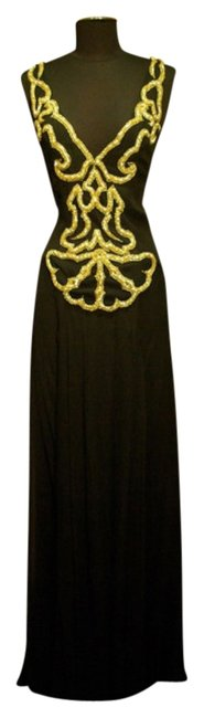 Jenny Packham Embroidered Silk Bullion Dress