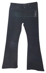 Miss Me 31waist 34 Lenght Flare Leg Jeans-Dark Rinse