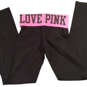 Victoria's Secret Victoria's Secret PINK Black Yoga Pants