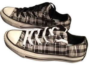 Converse Chuck Taylors Plaid Black and white Athletic