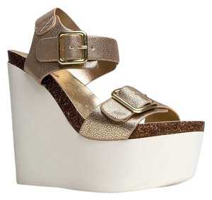 Soda Blu Gold Wedges