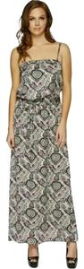 Green, Purple, White Maxi Dress by Guess Maxi Maxi Paisley