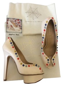 Charlotte Olympia Multicolor Platforms