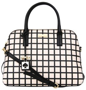 Kate Spade Small Rachelle Brightwater Drive Plaid New Satchel in Bicolor Plad