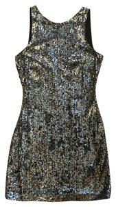 AllSaints Sequin Going Party Micro-mini Dress