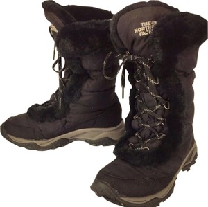 The North Face Black/ Grey Boots