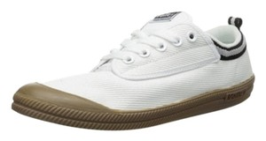 Volley Canvas Lace-up Low-top Sneaker White Athletic
