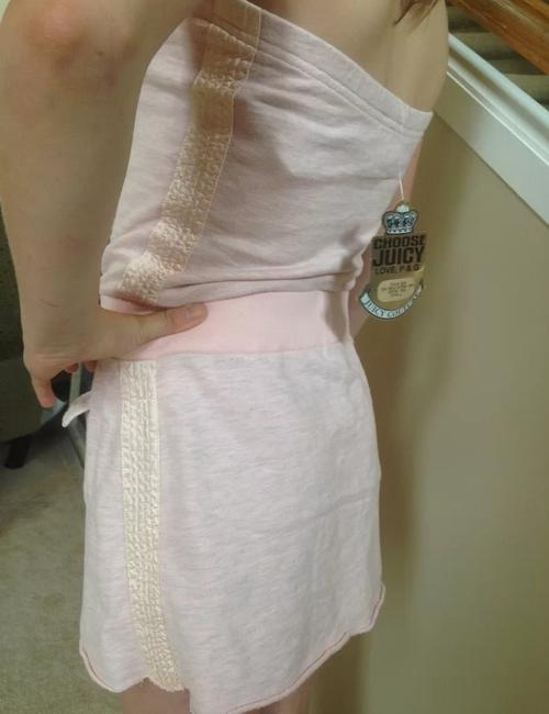 Juicy Couture short dress Pink on Tradesy