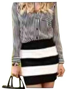 Zara Skirt Black And White
