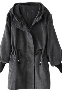 OASAP Hooded Woolen Coat
