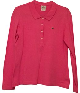 Lacoste Top Med pink