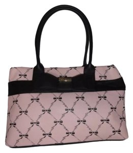 Betsey Johnson Tote in Blush/Black