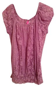 Lace Top Mauve