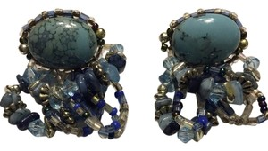 Other Beautiful blue stone with beading