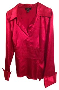BCX Satin Top Red