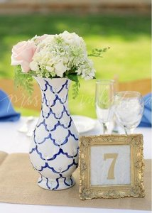 Gold Silver & Pewter 8 Vintage Eclectic Table Numbers
