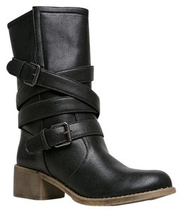 Dirty Laundry Black Boots