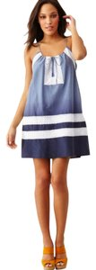 BCBGMAXAZRIA short dress Blue Multi Blue Summer Mini Above Knee on Tradesy