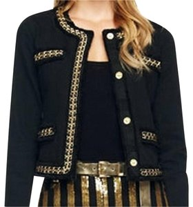 Michael Kors Black/Gold Blazer