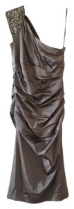 Suzi Chin Maggy Boutique Formal Formal One Shoulder Beaded Ruched Ruched Dress