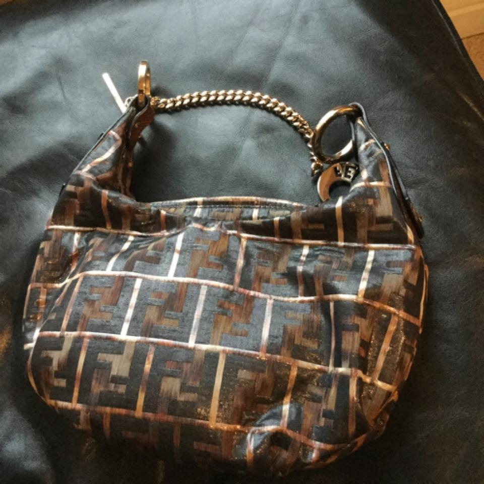 Fendi Logo Hobo Bag