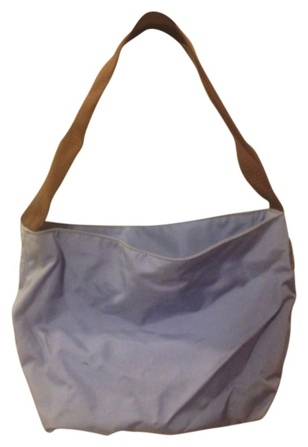 Item - Blue/Purple Nylon Shoulder Bag