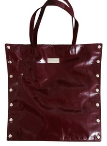 Homanz Unique Patent Leather Modern Gold Hardware Snaps Shoulder Bag