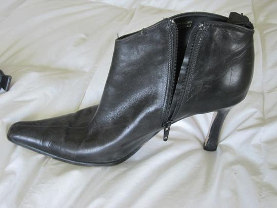 Gama Studio Italian Leather Boots Ankle Black Boots