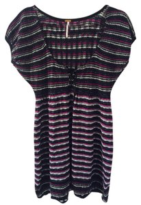 Free People short dress Multi Knit Sweater on Tradesy