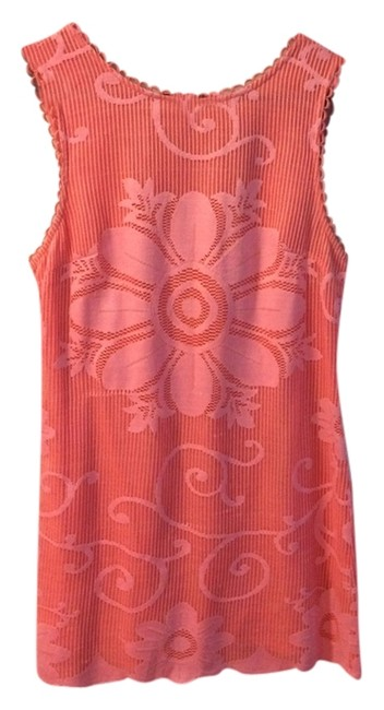 New Romantics - Free People short dress Pink Lace Short 60s Inspired Shift Sleeveless Fitted Silhouette Polyester on Tradesy