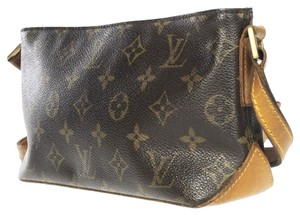 Louis Vuitton Monogram Monogram Tote Leather Handbag Monogram Handbag Vintage Leather Cross Body Bag