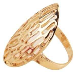 0 Degrees 14K Gold Plated Ring