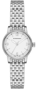 Burberry Burberry The Utilitarian BU7856 Silver Stainless White Dial Womens Watch