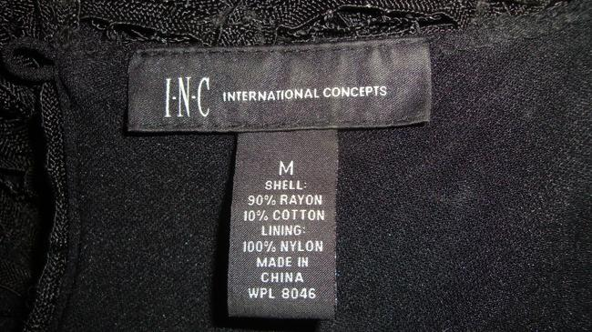 INC International Concepts Date Night Evening Cocktail Lace Cap Sleeve Tunic