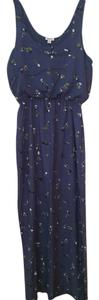 blue floral Maxi Dress by Splendid