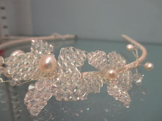 Sara Gabriel Veiling & Headpieces Designer Swarovski Fresh Water Pearls Headband Hair Accessory