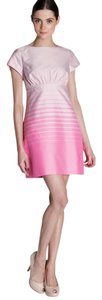 Ted Baker Ombre Ombre Short Sleeve Empire Waist Summer Dress
