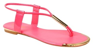 Bamboo Pink Sandals