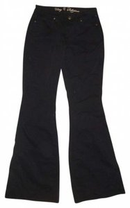 CJ Cookie Johnson Flare Leg Jeans-Dark Rinse