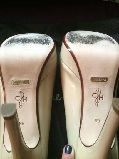 Cole Haan Nude Patent Leather Pumps Image 3