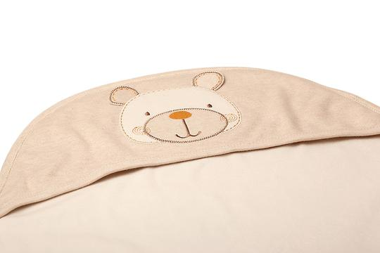Eotton Certified Organic Cotton Baby Wrap w/ Bear