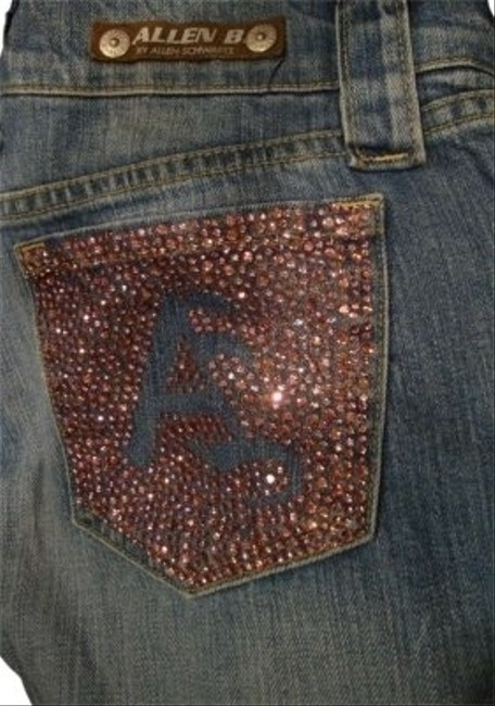 A.B.S. by Allen Schwartz Boot Cut Jeans-Distressed